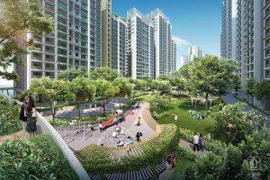 Punggol Northshore Thiet Ke Do Thi Xanh Singapore 02