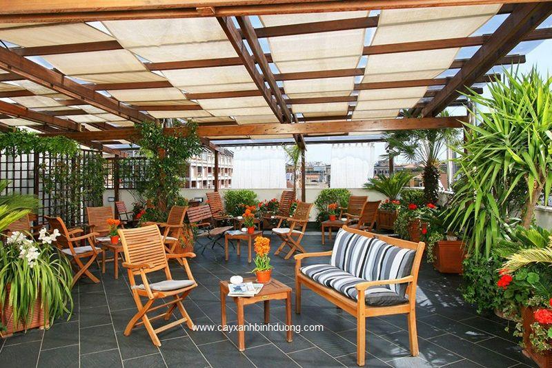 Nha Hang San Vuon Quan Cafe Greenmore4