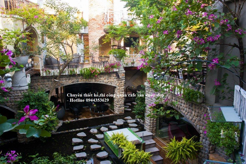 Hình ảnh Quán Cafe Sân Vườn đẹp