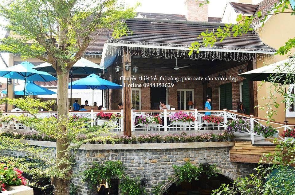 Thiết Kế Cafe Sân Vườn