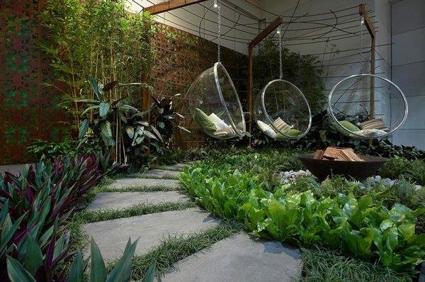 Thiết Kế Sân Vườn Sau Nhà Phố
