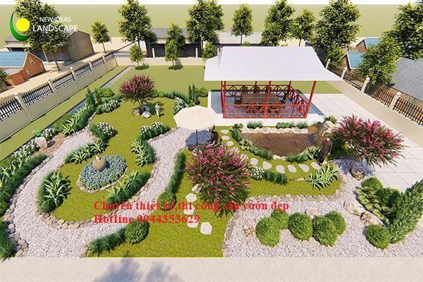 Bố Trí Sân Vườn đẹp